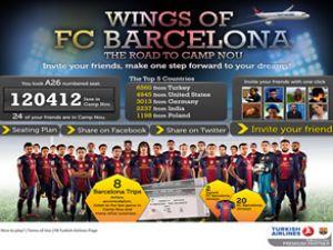 Türk Hava Yolları'ndan 'Barcelona' sürprizi