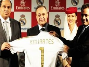 Emirates, Madrid'e forma sponsoru oluyor