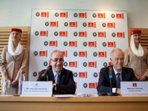 Emirates, Tenis Turnuvası'na sponsor