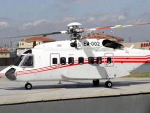VIP helikopter'in ilki teslim ediliyor
