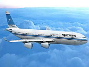 Kuveyt uçağı yolcu için Diyarbakır'a indi