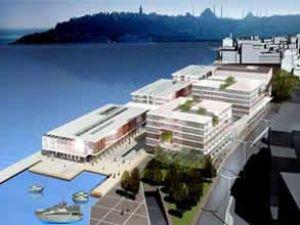 Galataport  projesinin yeni  plan ve şartları