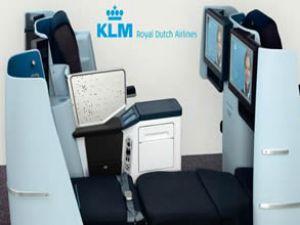 KLM'nin Business Class'da yeni dizaynı