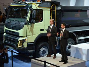 Volvo FMX, Bauma Fuarı'nda ilgi çekti