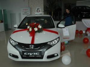 Yeni Honda Civic'in tanıtımı gerçekleşti