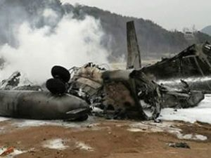 Irak'ta askeri helikopter düşürüldü