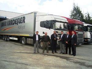 Şahin Kardeşler Nakliyat'a Scania ve Krone