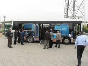 MD9 LE, halk otobüsçülerle buluştu