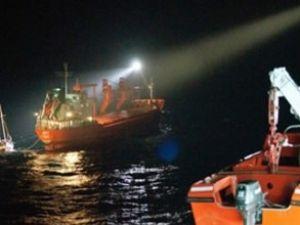 Piri Reis Ege'de bir gemiyle çarpıştı