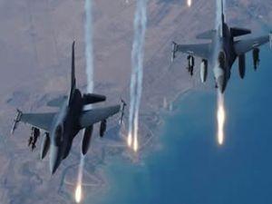 İsrail uçaklarından Gazze'ye hava saldırısı