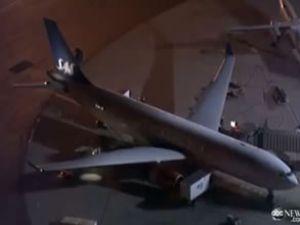 Newark Havalimanı'nda bir kaza yaşandı