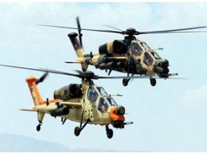Milli Helikopterin gösterisi nefes kesti