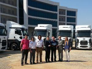 Beşler Turizm filosuna 50 adet Ford Cargo