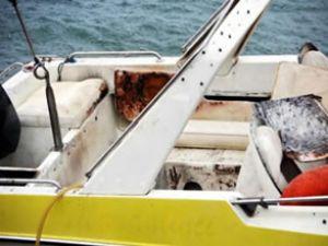 Bodrum'da sürat teknesinde yangın
