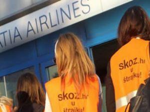 Croatia Airlines çalışanları grev başlattı