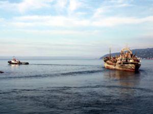 Alican-S gemisi Ordu'ya doğru yola çıktı