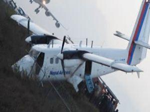 Nepal'de uçak kazası: 21 yaralı