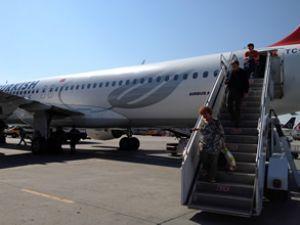 Türk Hava Yolları uçağı havadan döndü
