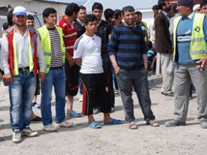 Şırnak Havalimanı işçileri iş bıraktı