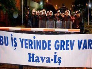 Türk Hava Yolları grevi abluka altında