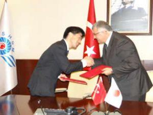 Japonya ile SHGM anlaşma imzaladı
