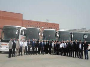 İstanbul seyahate yeni Mercedesler katıldı