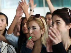 Hava İş Sendikası'nın grev toplantısı başladı