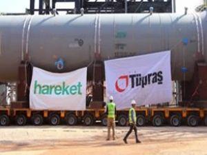 Hareket, Tüpraş için dev reaktörü taşıdı