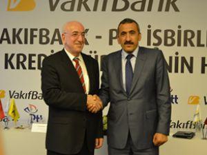 PTT ve VakıfBank  kredi işbirliğine gitti