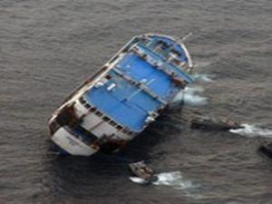 Çin'in Ciciang eyaletinde nehir gemisi battı