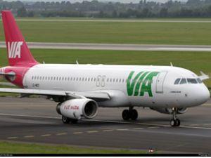 Bulgaristan'da yolcu uçağı pistten çıktı