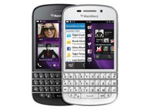 Yeni BlackBerry Q10 Turkcell'le Türkiye'de
