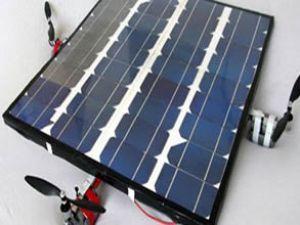 Güneş enerjisiyle uçan helikopter