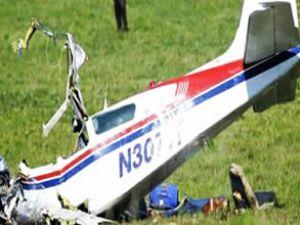 Rusya'da 'Bekas-32' tipi uçak düştü