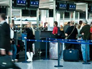 Yolcular  bu yüzden  uçağa yetişemiyor