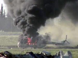 Kanada'da ambulans helikopter düştü