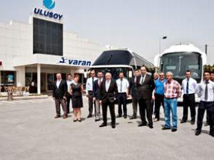 """58 yolcu kapasiteli """"Irizar"""" Türkiye'de"""
