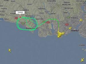 Türk Hava Yolları'nın uçağı kuyruk sürttü