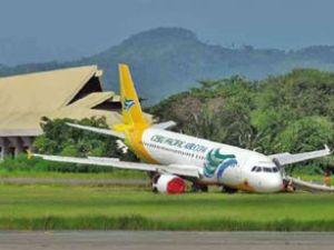 Filipinler'de yolcu uçağı burun üstü çakıldı