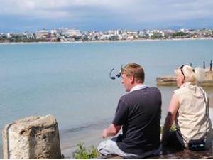 Antalya'da  son 10 yılın en fazla turisti