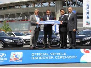 Hyundai'den Dünya Kupası'na 112 araç