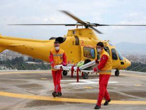 Uçak ambulanslarıyla 721 hasta nakledildi