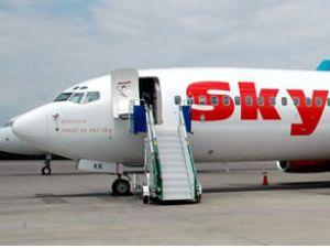 Antalya'da mağdur olan uçak yolcusu yok
