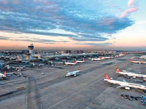 Uçak trafiğinde artış Mayıs'ta da sürüyor