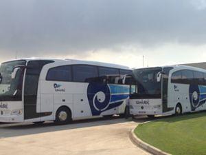 Kamil Koç Otobüs A.Ş. Travego'ları teslim aldı