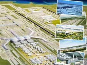 Yeni havalimanına Türk mermerleri
