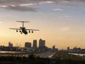 London City Havaalanı rekoru kutluyor
