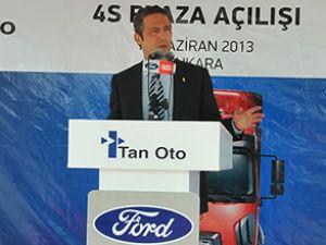 Ankara'da iki yeni Ford Truck bayi açıldı