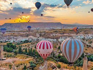 Kapadokya turist akınına uğruyor