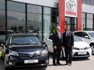 Toyota yeni modellerini Kayseri'de tanıttı